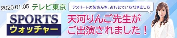 テレビ東京「追跡LIVE!SPORTSウォッチャー」